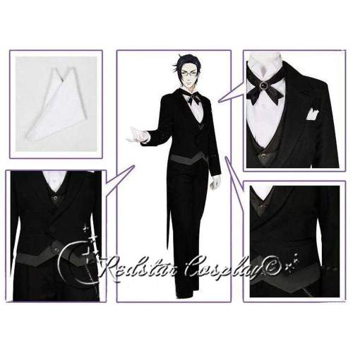 Black Butler Claude Faustus Cosplay Costume Custom in Any size