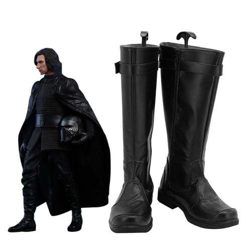 Star Wars: The Last Jedi Kylo Ren Boots Halloween Costumes Accessory Cosplay Shoes