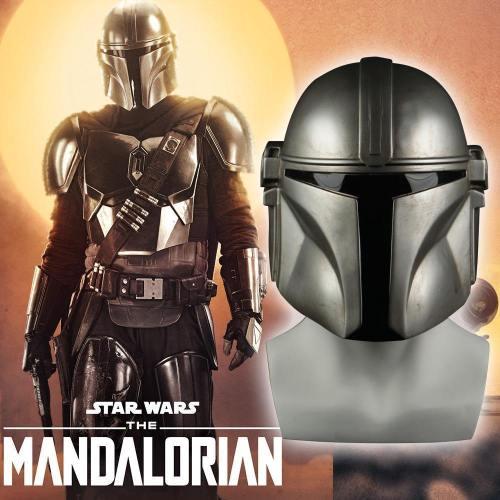 Star Wars Helmet The Mandalorian Cosplay Mask Pedro Pascal Mandalorian Soldier Warrior Pvc Helmet Prop
