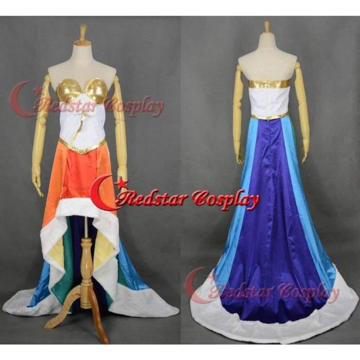 My Little Pony Rainbow Cosplay Costume Dress