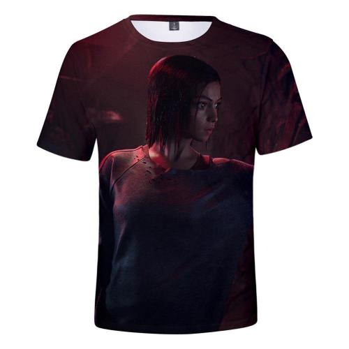Alita T-Shirt - Battle Angel Graphic T-Shirt Csos989