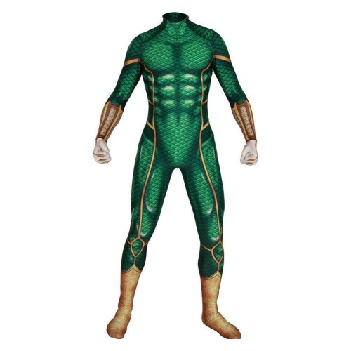 Spider-Man: Far From Home Bodysuit Ver.Green Cosplay Costume