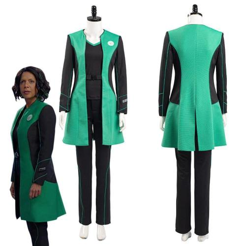 The Orville Into The Fold Dr. Claire Finn Medical Officer Women Uniform Outfits Halloween Carnival Suit Cosplay Costume