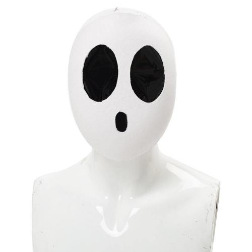 Super Mario Shy Guy Cosplay Face Cover Cosplay Accessories