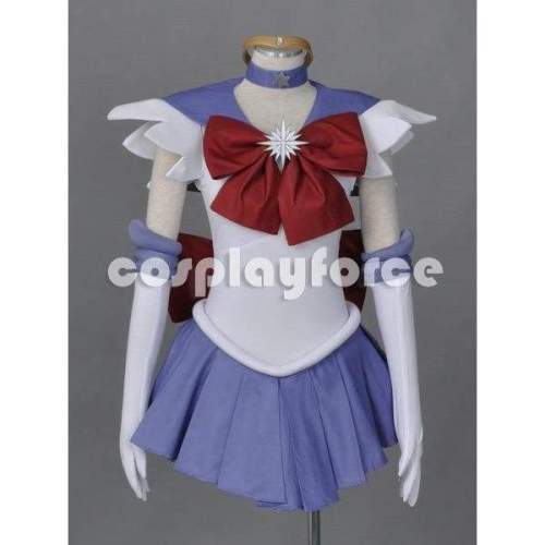 Sailor Moon Sailor Saturn Cosplay Costume With Two Headwears