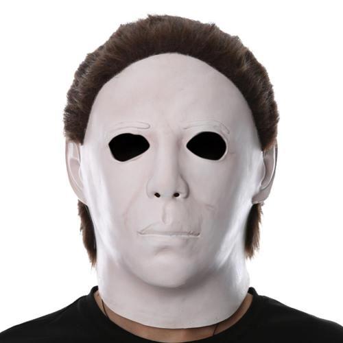 Horror Movie Halloween Michael Myers Scary Helmet Cosplay Accessories