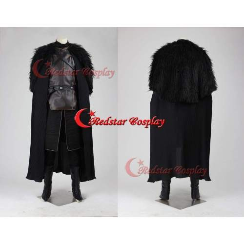 Game Of Thrones Jon Snow Cosplay Costume
