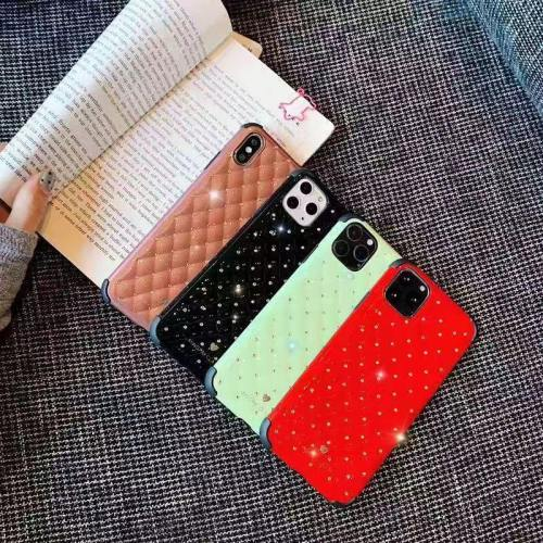 Shiny Quilted Jewel Phone Case