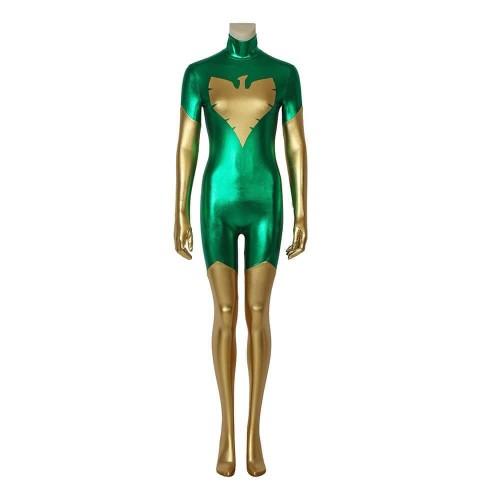 X-Men Phoenix Jumpsuit Costume Cosplay Halloween Suit For Women Custom Made