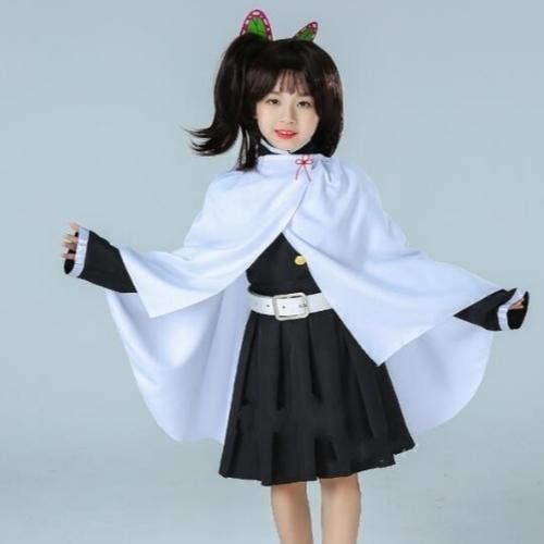 Anime Demon Slayer Kimetsu No Yaiba Kimono Cosplay Costume For Kids