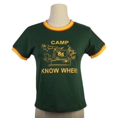Stranger Things Dustin 85 Know Where Kids T-Shirt Summer Short Tee Tops