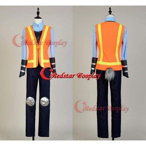 Zootopia Cosplay Judy Traffic Police Officer Judy Hopps Cosplay Costume Uniform Outfit