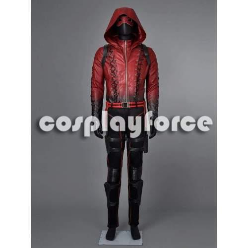 Deluxe Green Arrow Season 3 Arsenal Roy Harper Cosplay Costume Mp002820