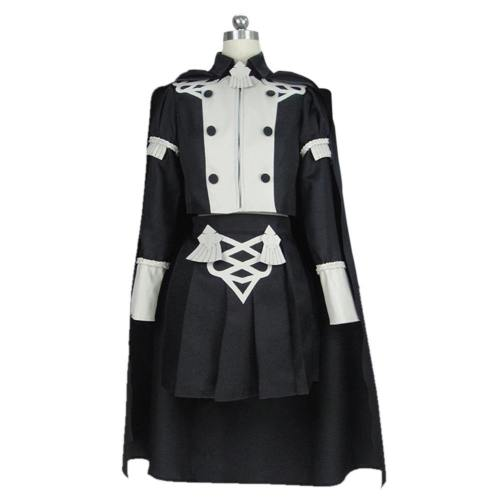 Game Fire Emblem:Three Houses Byleth Women Uniform Outfit Halloween Carnival Costume Cosplay Costume