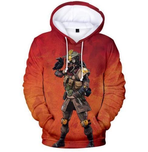Apex Legends 3D Printed Hoodies Hooded Pullover Sweatshirt
