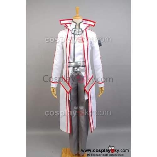 Sword Art Online Knights Of The Blood Kazuto Kirigaya Cosplay Costume