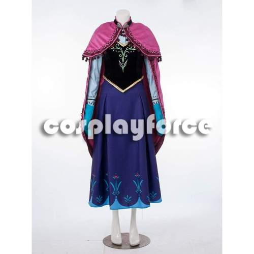 Once Upon A Time Anna Cosplay Whole Costume