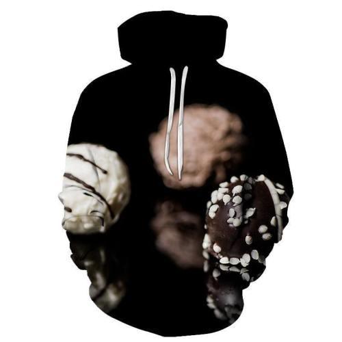Dark Rocher Chocolate 3D Sweatshirt