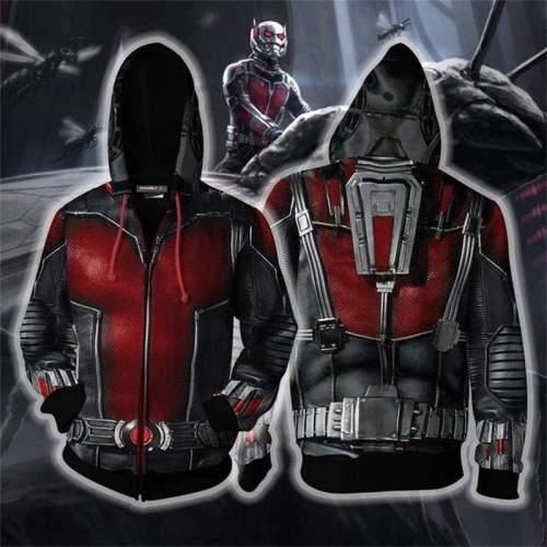 The Avengers Endgame Ant-Man Zip Up Hoodie