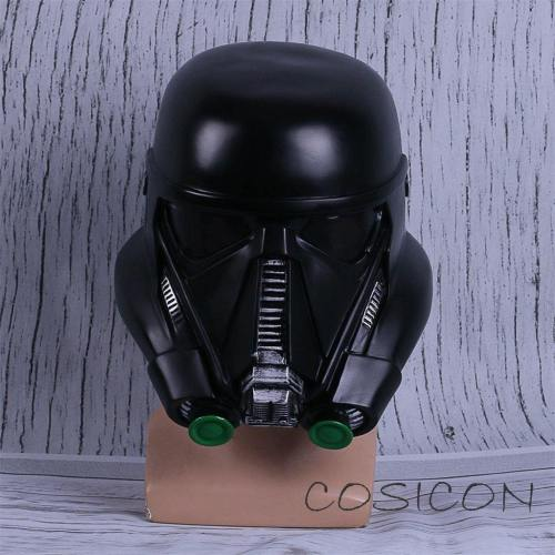 Star Wars Death Trooper Helmet Classic Force Awakens Rubies Deluxe Helmet Halloween Party Mask