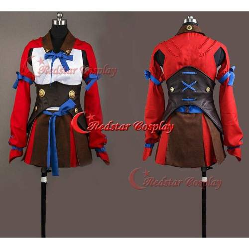 Kabaneri Of The Iron Fortress Mumei Nameless Cosplay Costume Battle Outfit Dress