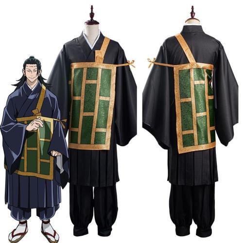 Anime Jujutsu Kaisen-Suguru Getou Kimono Outfits Halloween Carnival Suit Cosplay Costume