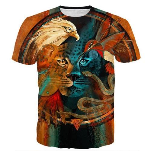 Spirit Animals 3D T-Shirt