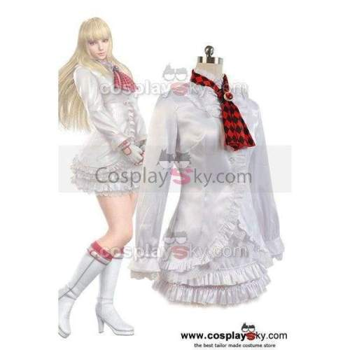 Tekken ? Lili White Dress Costume Cosplay