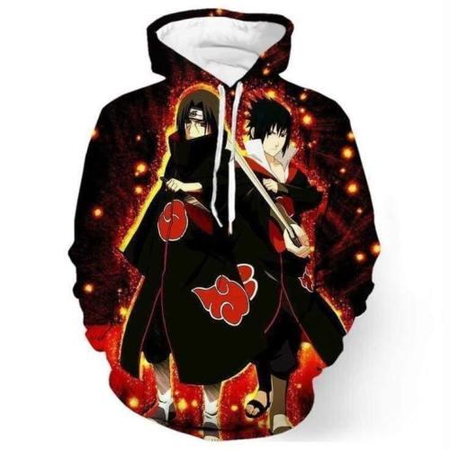 Naruto Hoodie - Sasuke Pullover Hoodie