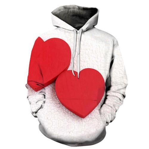 Happy Valentine'S Day 3D - Sweatshirt, Hoodie, Pullover