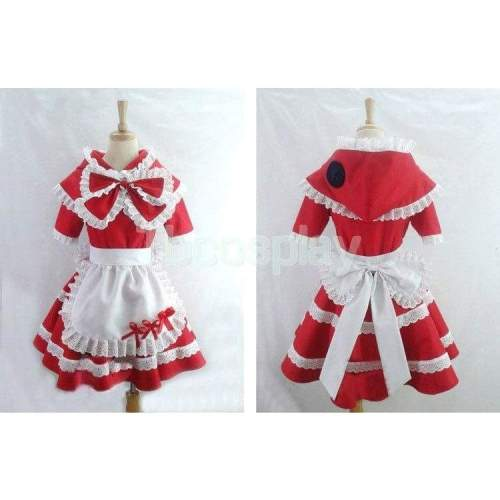 League of Legends Little red riding hood anne cosplay costume dress