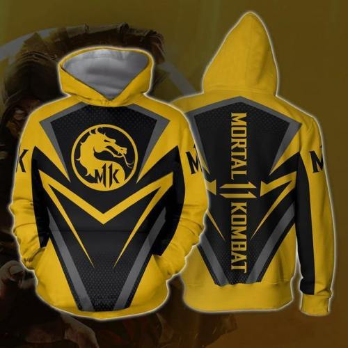 Mortal Kombat X Sub-Zero Scorpion Sweatshirts Cosplay Costume