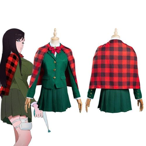 Burn The Witch Noel Niihashi Jumpsuit Uniform Dress Outfits Halloween Carnival Suit Cosplay Costume