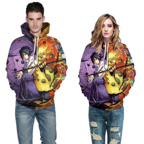 Mens Hoodies 3D Printed Dragon Ball Printing Pullover Sweatshirts