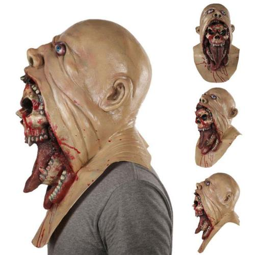 Resin Mask Halloween Latex Masks With Deluxe Quality Dreadful Horror Halloween Burp Charlie Style Halloween Costume Devil Men