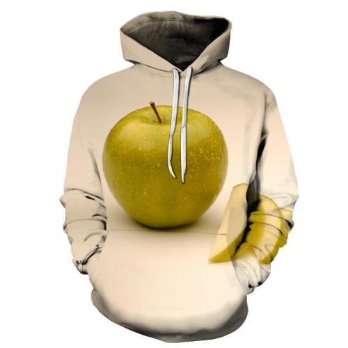Juicy Green Apple 3D - Sweatshirt, Hoodie, Pullover