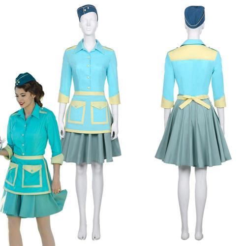 Nos4A2 -Tv Series-Jolene Women Shirt Dress Outfit Halloween Carnival Costume Cosplay Costume