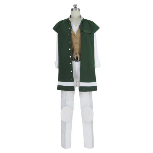 Game Octopath Traveler Alfyn Suit Cosplay Costume