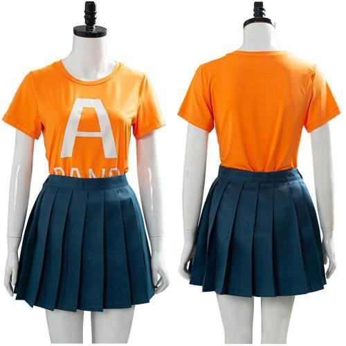 My Hero Academia Season 4 Uraraka Ochako School Uniform Outfit Cosplay Costume