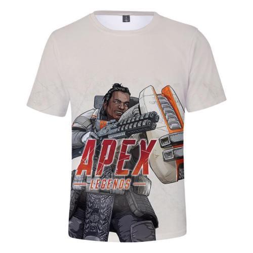 Game Apex Legends Cosplay Tee Shirt Halloween Cosplay Costume