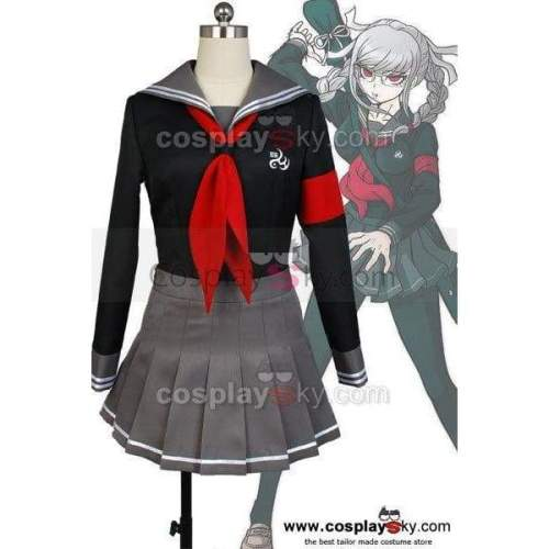Super Danganronpa 2 Peko Pekoyama Cosplay Costume