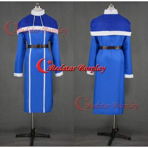 Juvia Lockser Cosplay Costume From The Anime Fairy Tail - Costume Made In Any Size