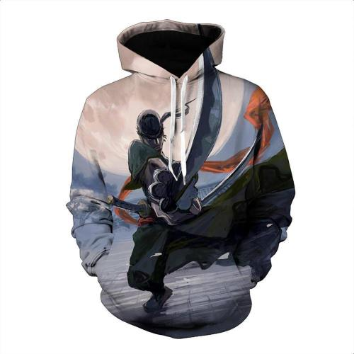 One Piece Hoodie - Zoro Pullover Hoodie Csso008