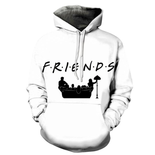Friends 3D - Sweatshirt, Hoodie, Pullover