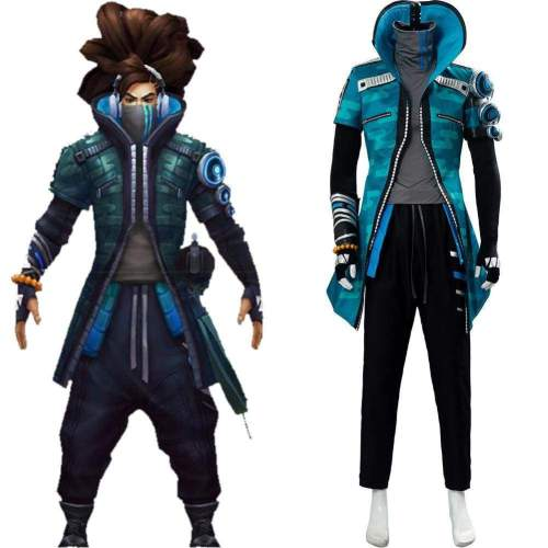 Yasuo True Damage Lol League Of Legends Cosplay Costume