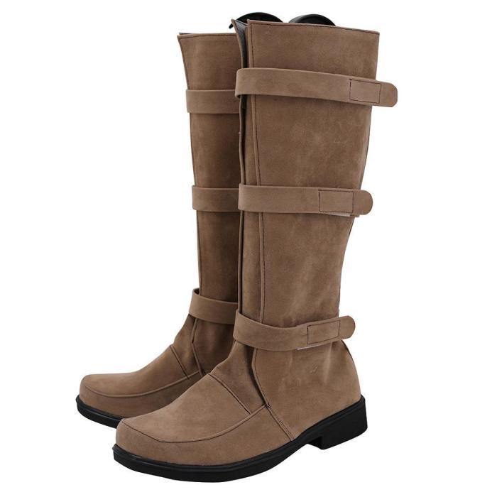 Star Wars Luke Skywalker Boots Halloween Costumes Accessory Cosplay Shoes