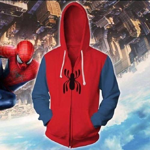 Spider-Man Hoodie - Homecoming Zip Up Hoodie Csos566