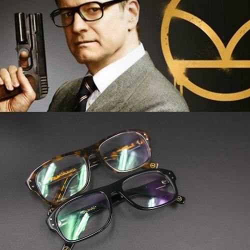 New Movie Kingsman Eyewear Glasses Eyeglasses Sunglasses Cosplay