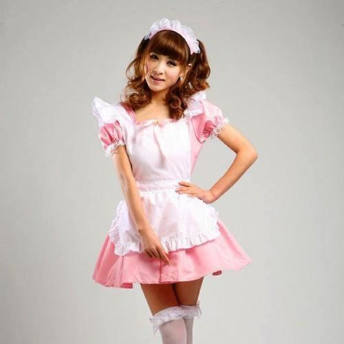 Maid Waitress Costumes - Ms019