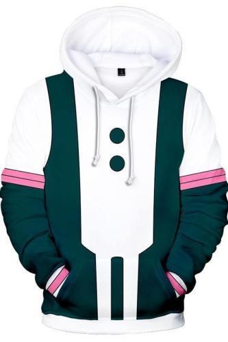 Teen Hoodie Boku No Hero My Hero Academia Ochaco Uraraka 3D Pullover Sweatshirt Unisex